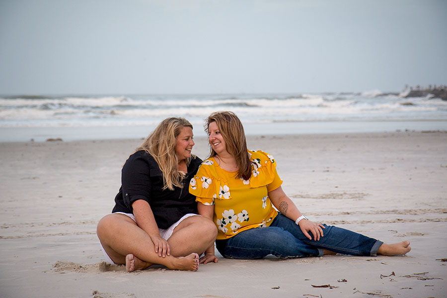 LGBT Engagement Session in Ponce Inlet | Central Florida wedding photographer | Sarah Rose Photography