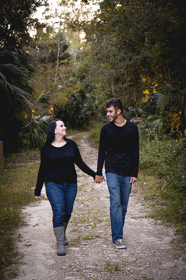 Silver Springs engagement session   Central Florida wedding photographer   Sarah Rose Photography