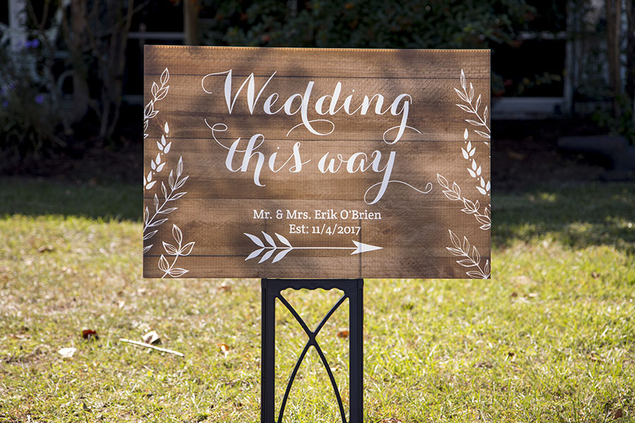 FL Backyard wedding in The Villages, Fl | Central Florida wedding photographer | Sarah Rose Photography