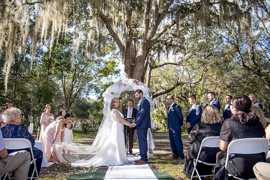 Backyard wedding in The Villages, Fl | Central Florida wedding photographer | Sarah Rose Photography