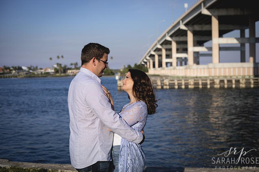 Smyrna Dunes Park engagement pictures   Central Florida wedding photographer   Sarah Rose Photography