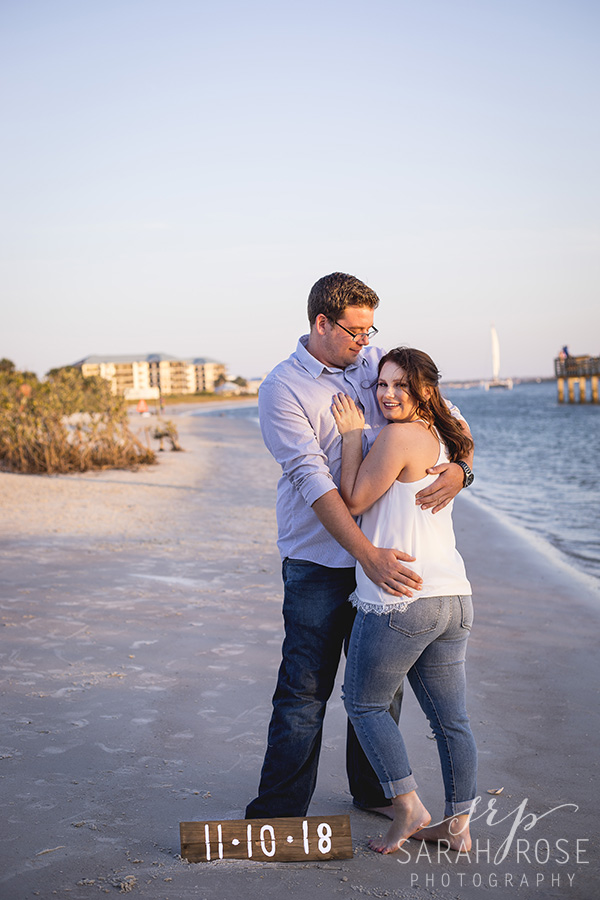 Smyrna Dunes Park engagement pictures | Central Florida wedding photographer | Sarah Rose Photography