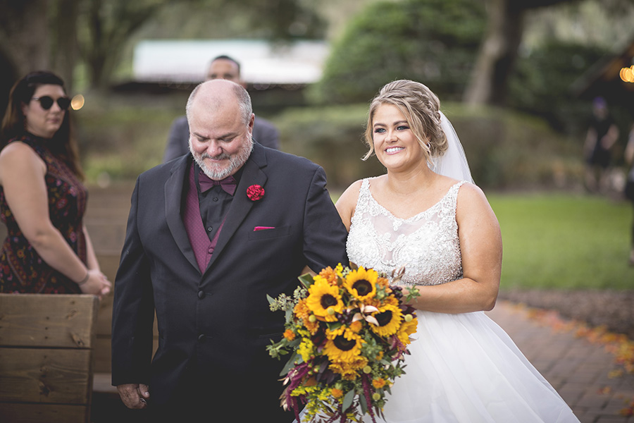 Club Lake Plantation wedding | Marriage Ceremony | Central Florida wedding photographer | Sarah Rose Photography