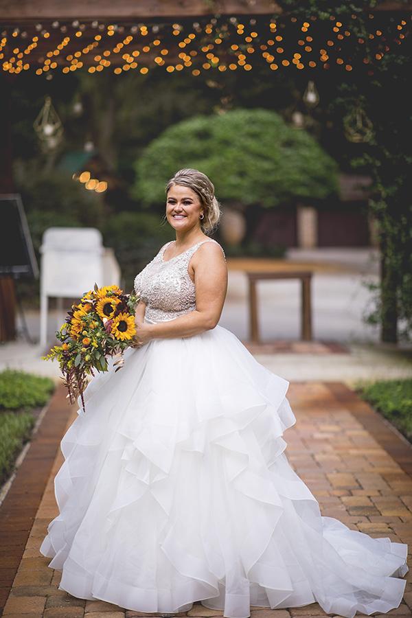 Club Lake Plantation wedding | Portraits | Central Florida wedding photographer | Sarah Rose Photography