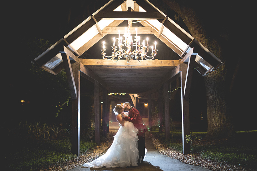 Club Lake Plantation wedding | Night Portraits | Central Florida wedding photographer | Sarah Rose Photography
